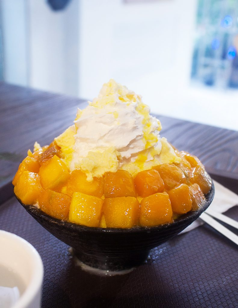 Bing Go Korean Snow Ice Mango