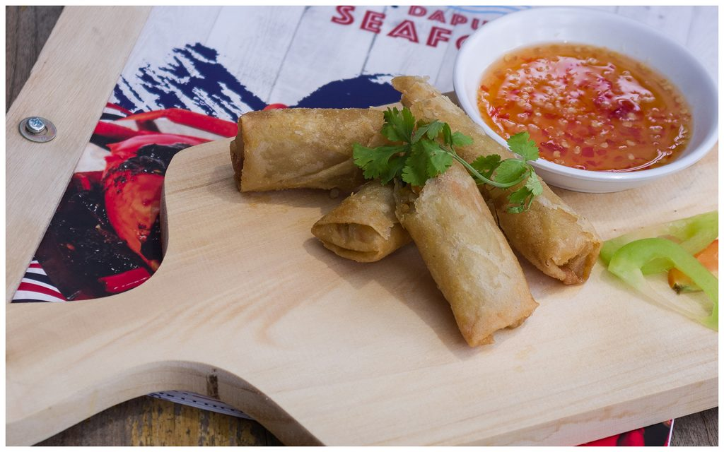 Dapur Seafood Spring Roll