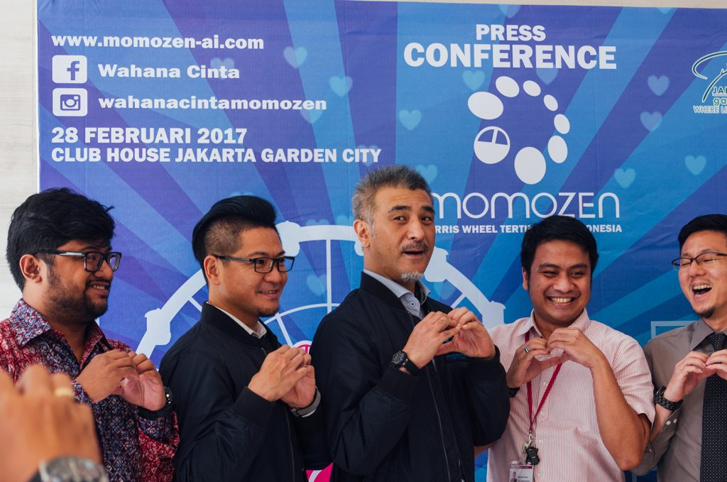 Press Conference Wahana Cinta Momozen