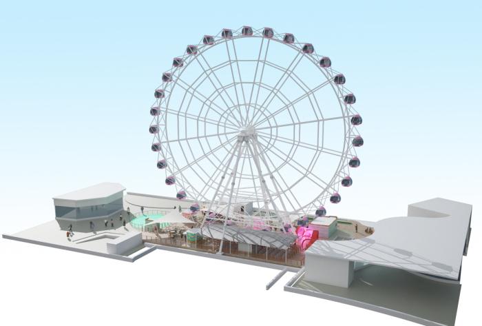 The Tallest Ferris Wheel in Indonesia