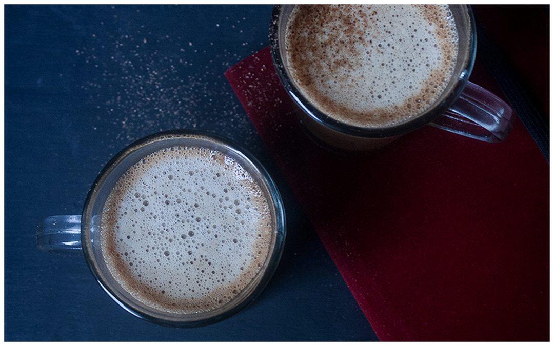 Spiced Orange Hot Chocolate