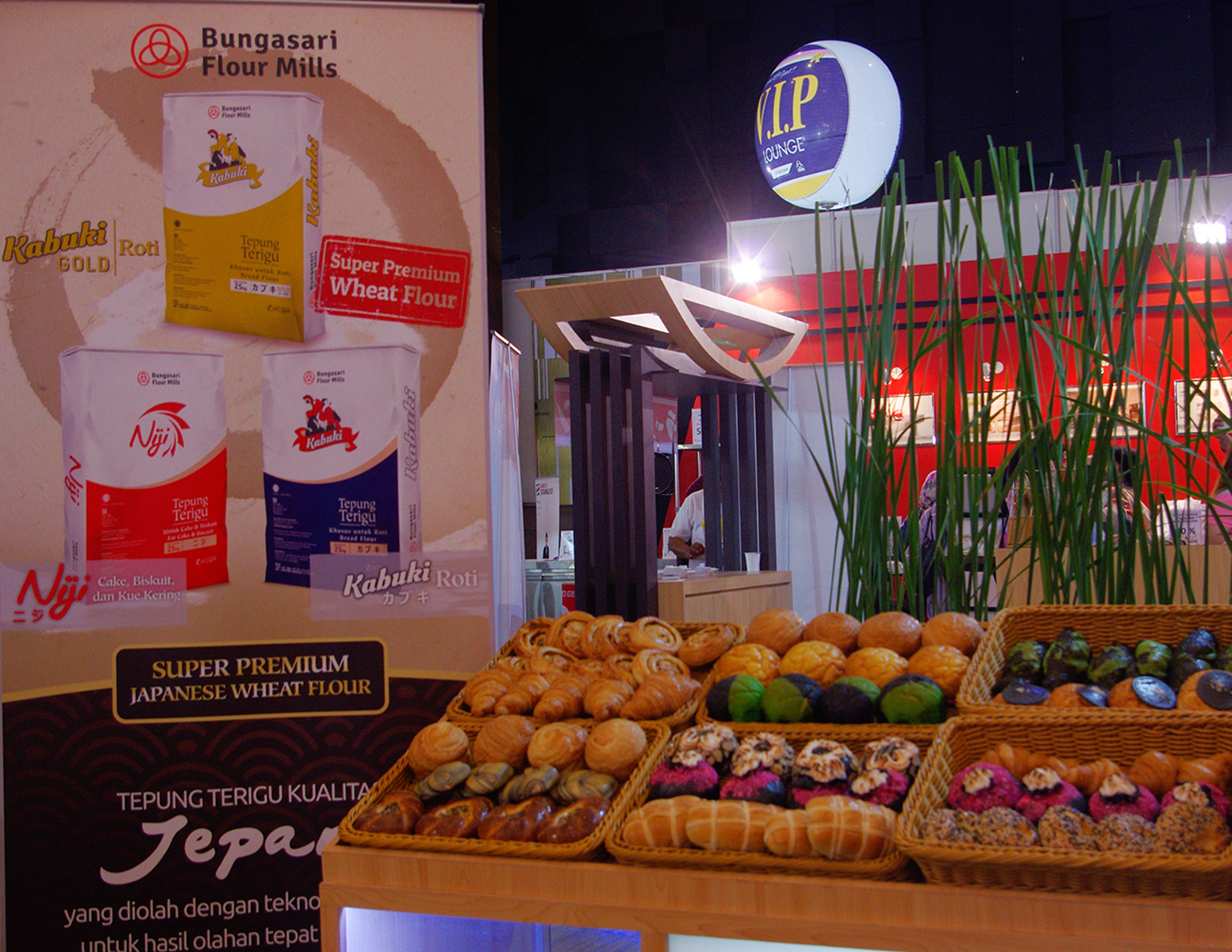 Bungasari at SIAL Interfood