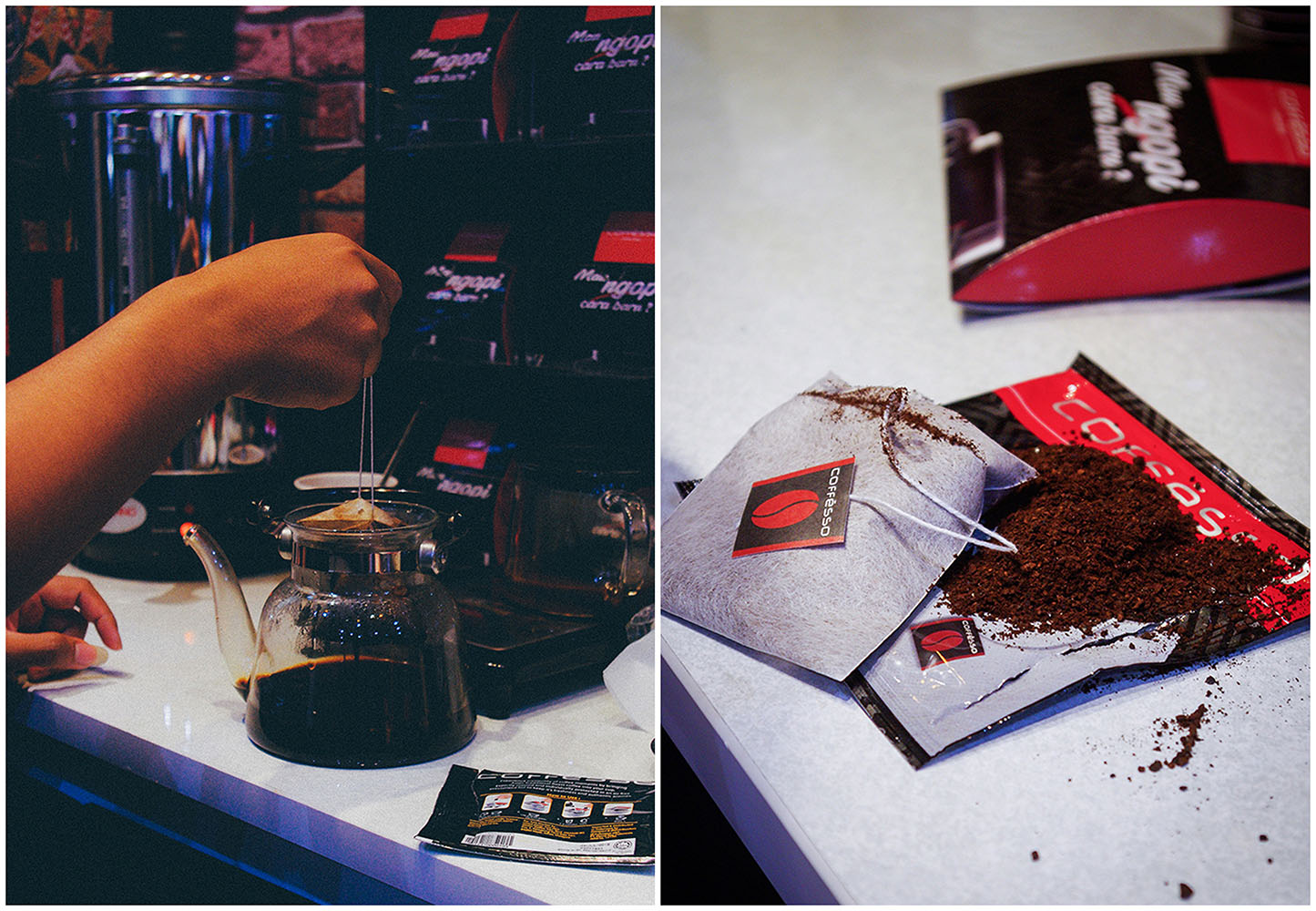 Coffesso Coffee Bag at SIAL Interfood