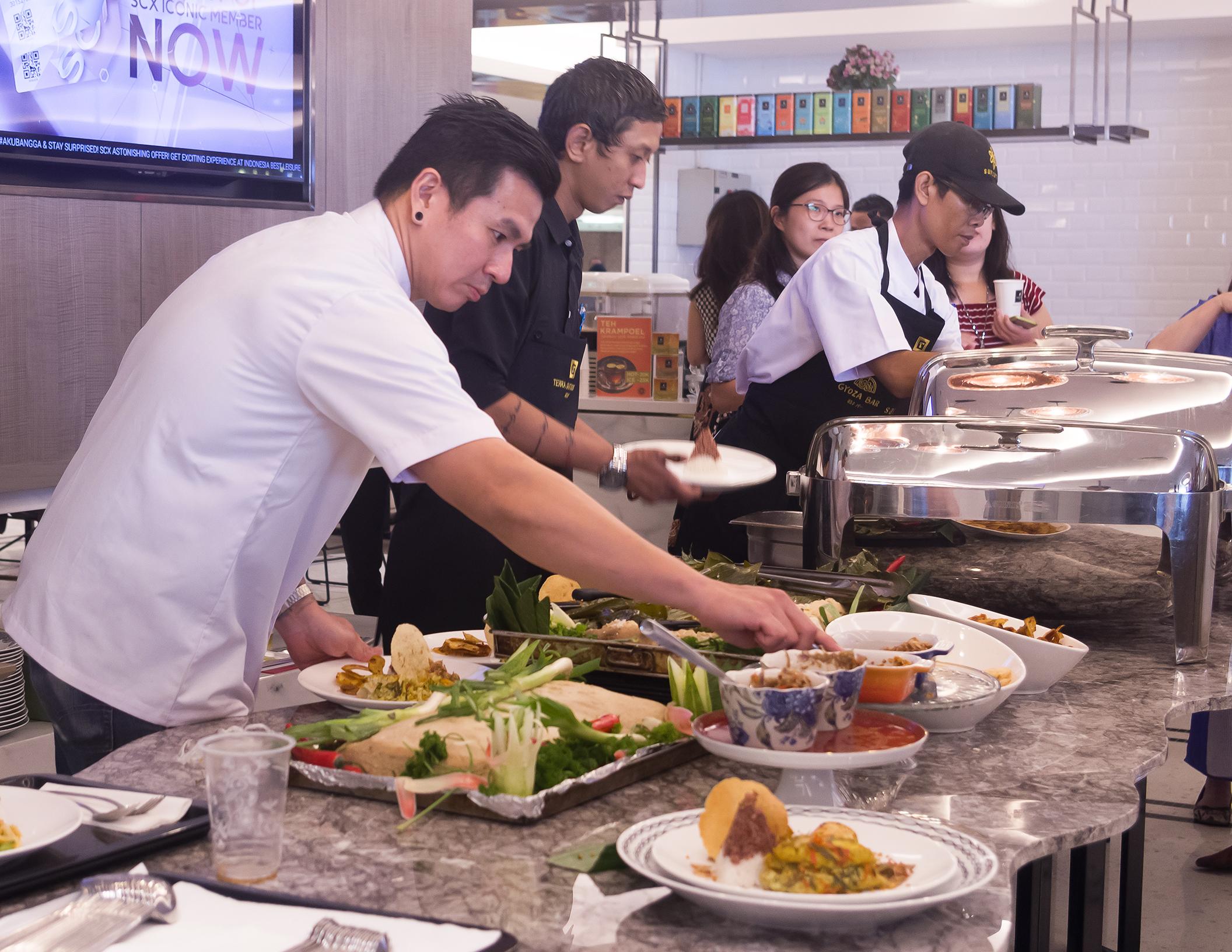 Ikan Noesantara Independence Day Lunch