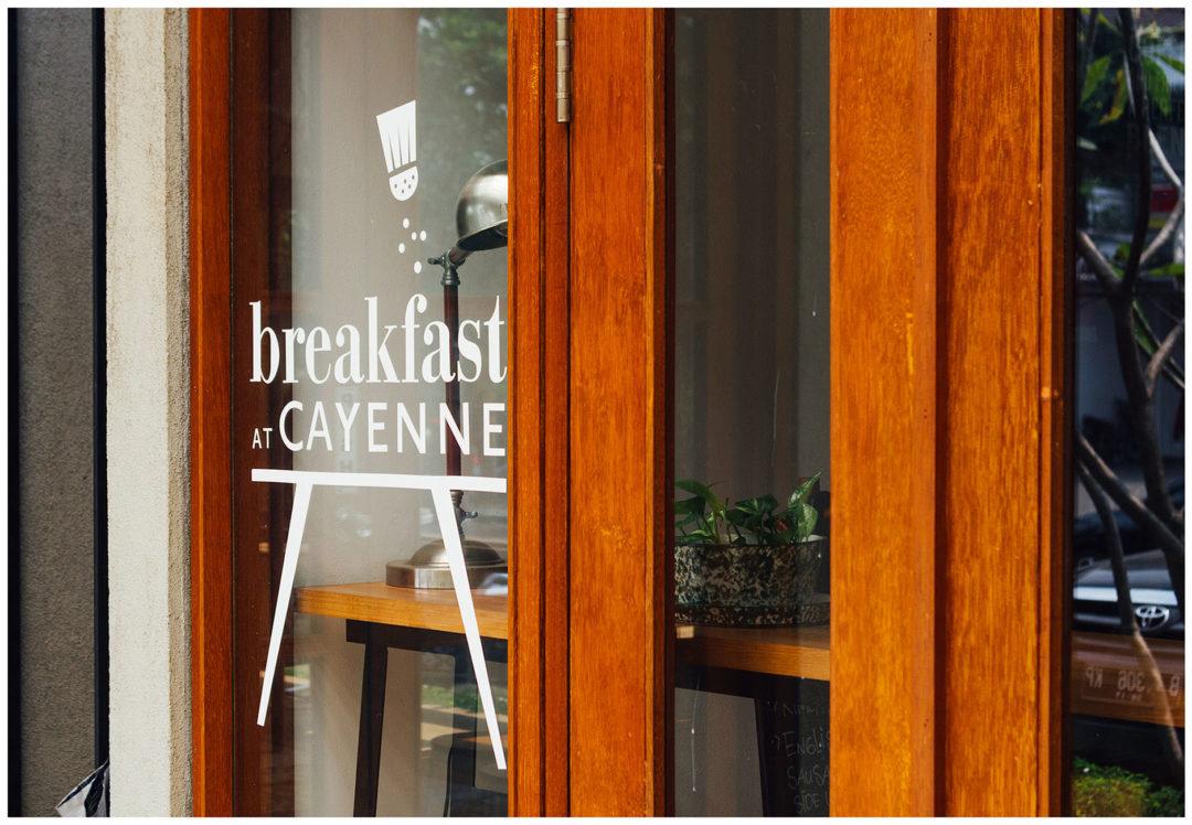 Breakfast at Cayenne