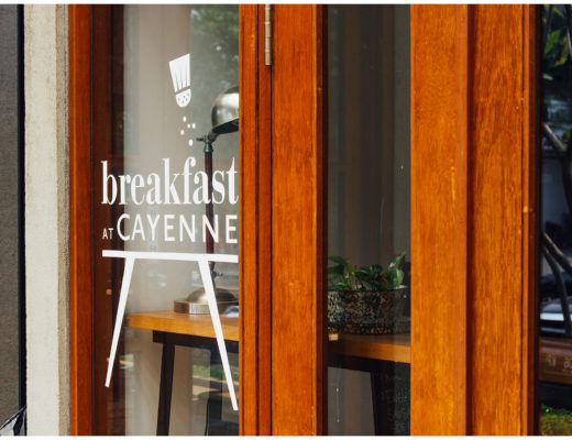 Breakfast at Cayenne