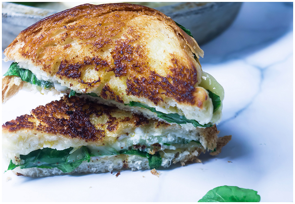 Sweet Savory Grilled Cheese Sandwich