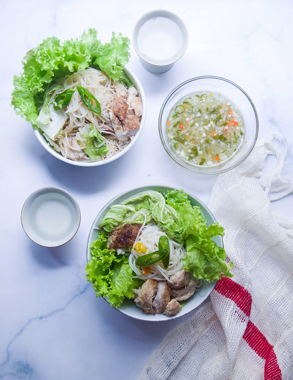 Rice Vermicelli Bowl