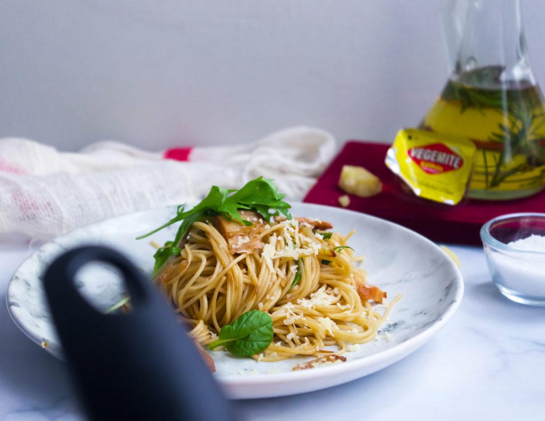 Vegemite & Sweet Onion Capellini