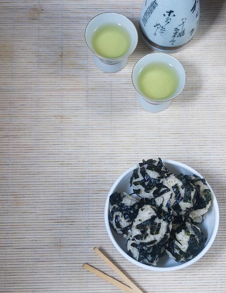 Green Tea Rice Ball