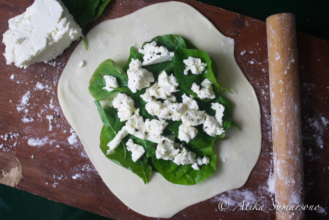Spinach and Feta Cheese Gozleme