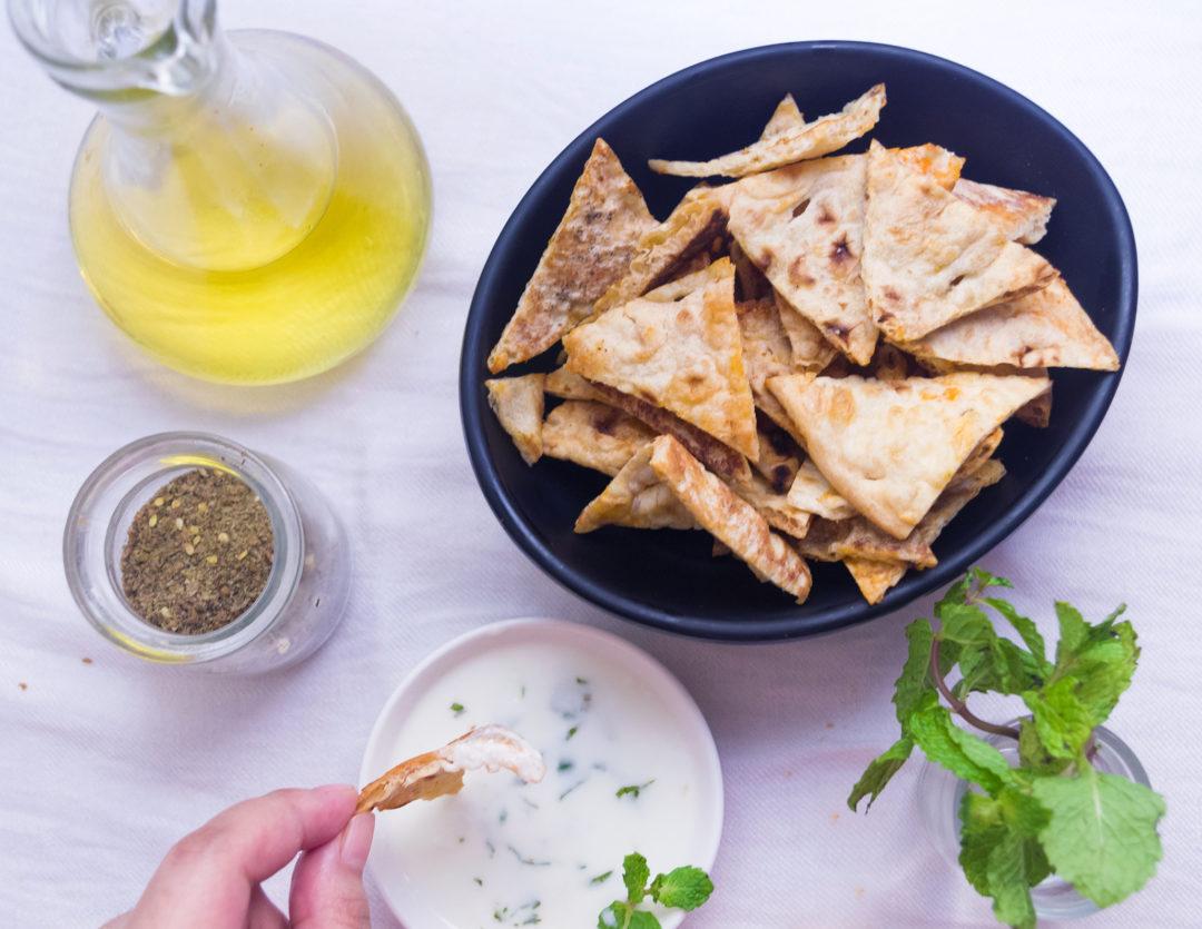 Za'atar Flatbread Chips