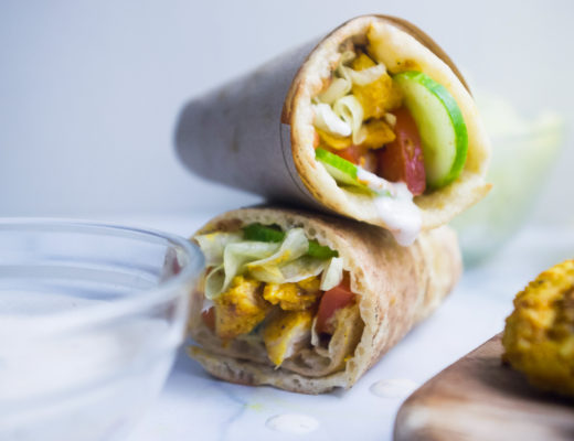 Grilled Yogurt Chicken Wrap