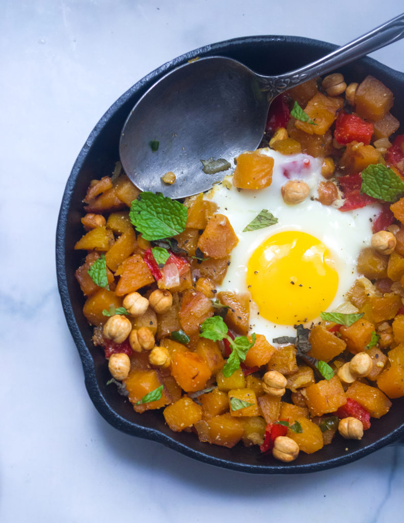 Sweet Potato Hash with Chickpea