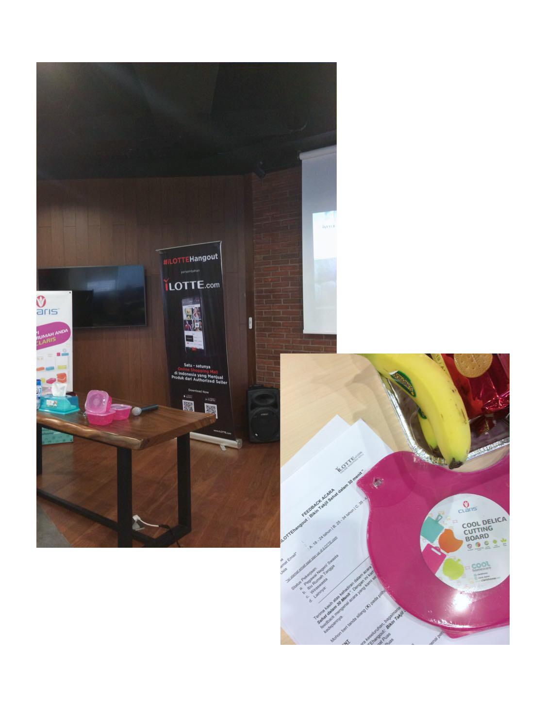 iLOTTE Hangout- Healthy Takjil in 30 Minutes