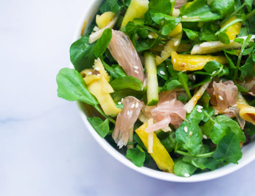Rujak Salad with Watercress