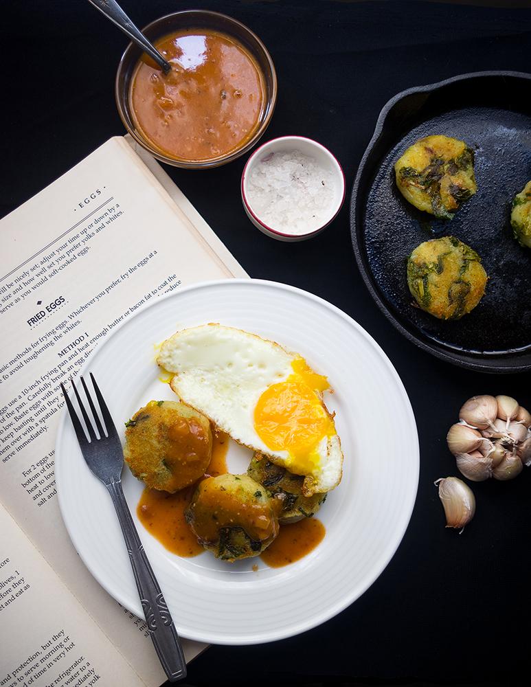 Kale and Potato Patties