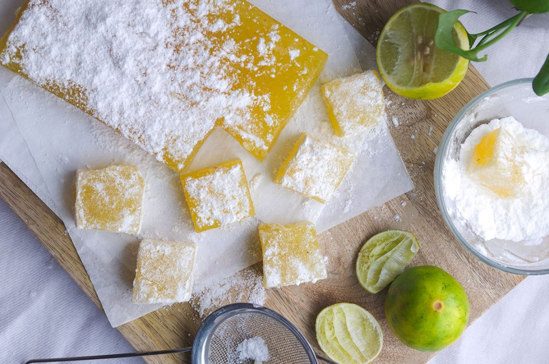 Homemade Lemon Turkish Delight