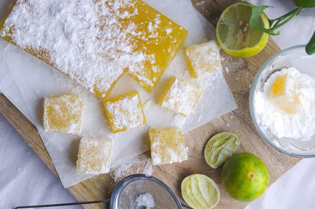 Homemade Lemon Turkish Delight