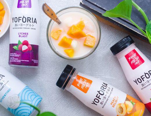 Yoforia Yogurt Drink with Fruits