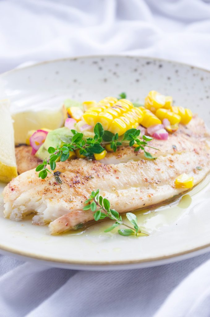 Oregano-Lemon Tilapia
