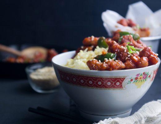 Spicy Gochujang Tempeh